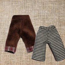 МК «Построение выкройки брюк с поясом  для кукол»