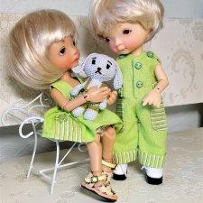 Карманы и карманчики… Продолжаем говорить о разных формах накладных карманов в кукольной одежде