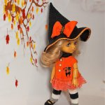 Тематические костюмы к Хеллоуин для кукол Lati,  Irrealdoll и Xiaomi Monst