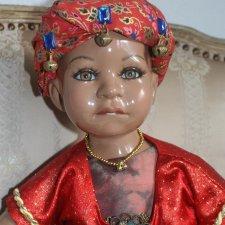 Куклы из моей коллекции... этнические напевы... Большие куклы из фарфора