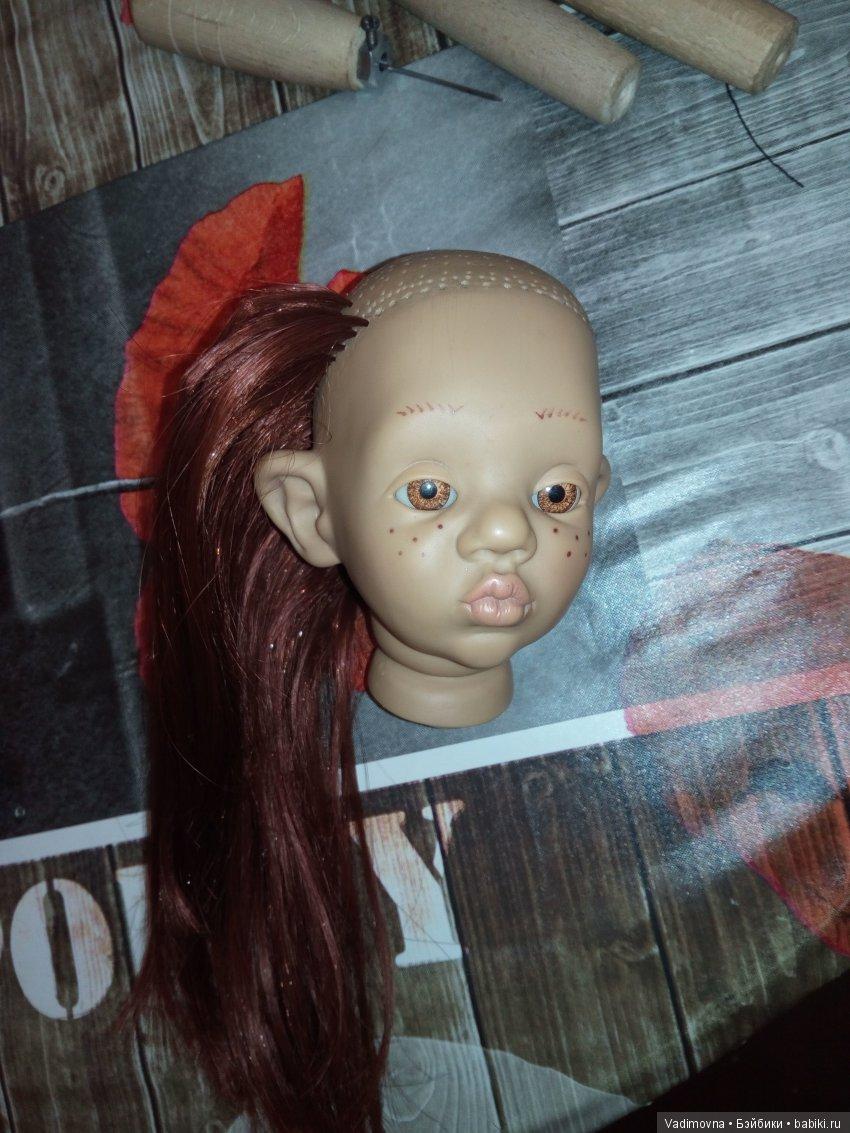 как перепрошить кукол в картинках днях
