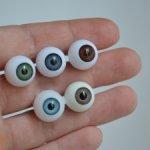 Глаза 14мм акриловые сферы от Gotz (Готц) и новые