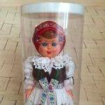 Куклы в национальных чешских костюмах.