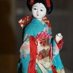 "Японская интерьерная кукла ""Гейша"""