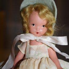 Крошка Nancy Ann Storybook, ранняя фарфор 30-40-е годы