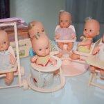 Редкие куколки Estrela Бразилия 70-е годы