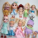 Маленькие куколки одним лотом