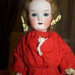 Антикварная кукла Heubach Koppelsdorf 250 9/0 с коробкой