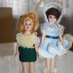 Две куколки 40-50-х годов