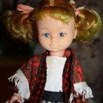 Винтажная кукла De Luxe 1970-е