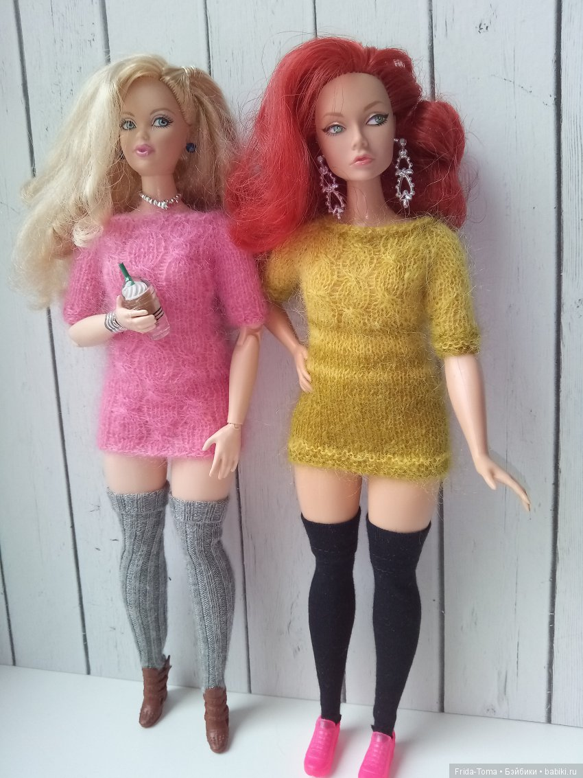 Платья на Барби