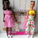 Одежда Барби фешн пак аутфит летний сарафан бриджи бермуды цветочные топик набор одежды фэшен пак