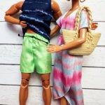 Одежда Барби Кен фешн пак летний аутфит платье шорты сумочка фэмили лук фэшен пак