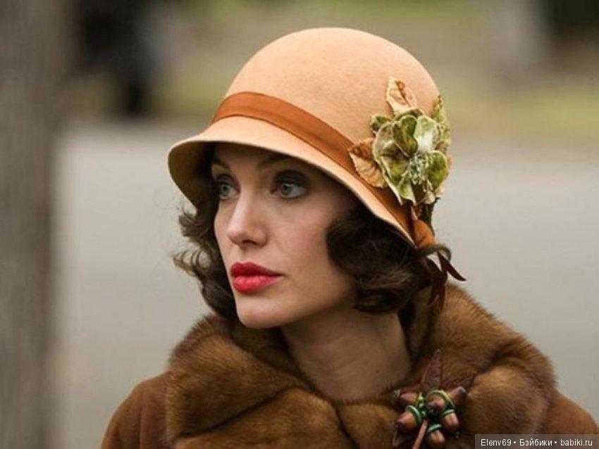 А это шляпка Анжелины Джоли, которая явилась прототипом