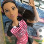 Барби Barbie йога, футболистка, мулатка, темная, доставка в цене