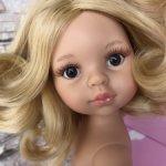 Клаудия, платиновая блондинка(тёплый) с карими глазами от Паола Рейна(Paola Reinа)