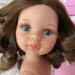 Кэрол темная блондинка, полячка, с серо-голубыми глазами, Паола Рейна(Paola Reina), нюд