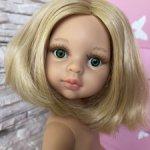 Клаудия, платиновая блондинка(тёплый) с каре, зелёными глазами от Паола Рейна(Paola Reinа