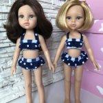 Купальник для куклы и дочки формата Паола Рейна(Paola Reina)
