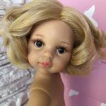 Клаудия полячка, платиновая блондинка(тёплый) с каре, карими глазами от Паола Рейна(Paola Reinа)