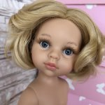 Клаудия, платиновая блондинка(тёплый) с каре, серыми глазами от Паола Рейна(Paola Reinа)