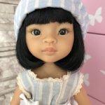 Лиу брюнетка с чёрными глазами от Паола Рейна(Paola Reina)