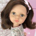 Кэрол с каштановыми волосами и карими глазами от Паола Рейна(Paola Reina)