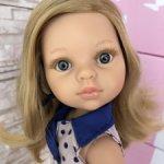 Карла со светлыми волосами и серыми глазами от Паола Рейна(Paola Reina)