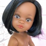 Нора с черными волосами, каре, карими глазами, Паола Рейна(Paola Reina)