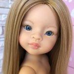 Маника с пшеничными волосами и синими глазами, Паола Рейна(Paola Reina), нюд.
