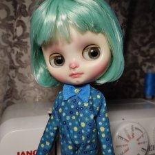 Кукла мидди блайз, кастом Ольги Смирновой(без отпускной цены)