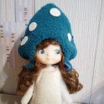 Лимитная Hachichi doll.Милый мухоморчик