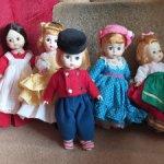 Лот куклят Мадам Александер Шок цена на сутки!