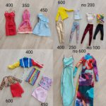 Одежда на барби и кена