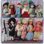 Ленигрушка.14 кукол в национальной одежде