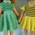 Вязаные платья для Паолочек