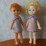 Свердловские куклы Лены из СССР