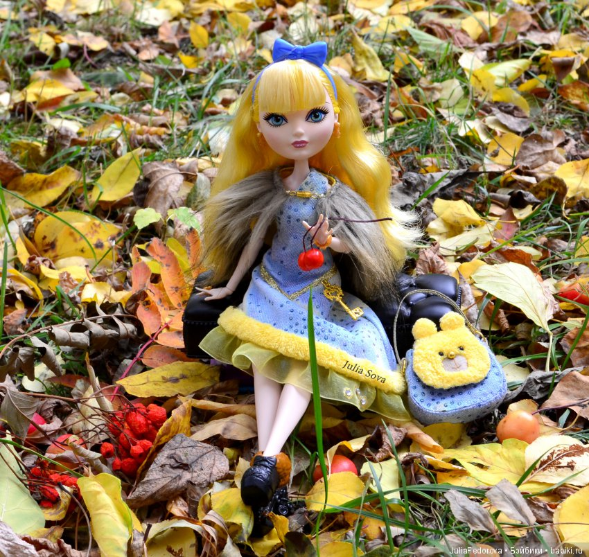 Кукла Блонди Ever After High в авторском аутфите