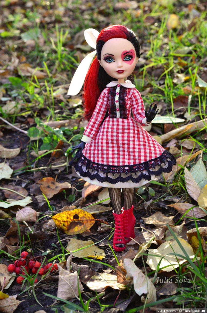 Кукла Лиззи Ever After High в авторском аутфите