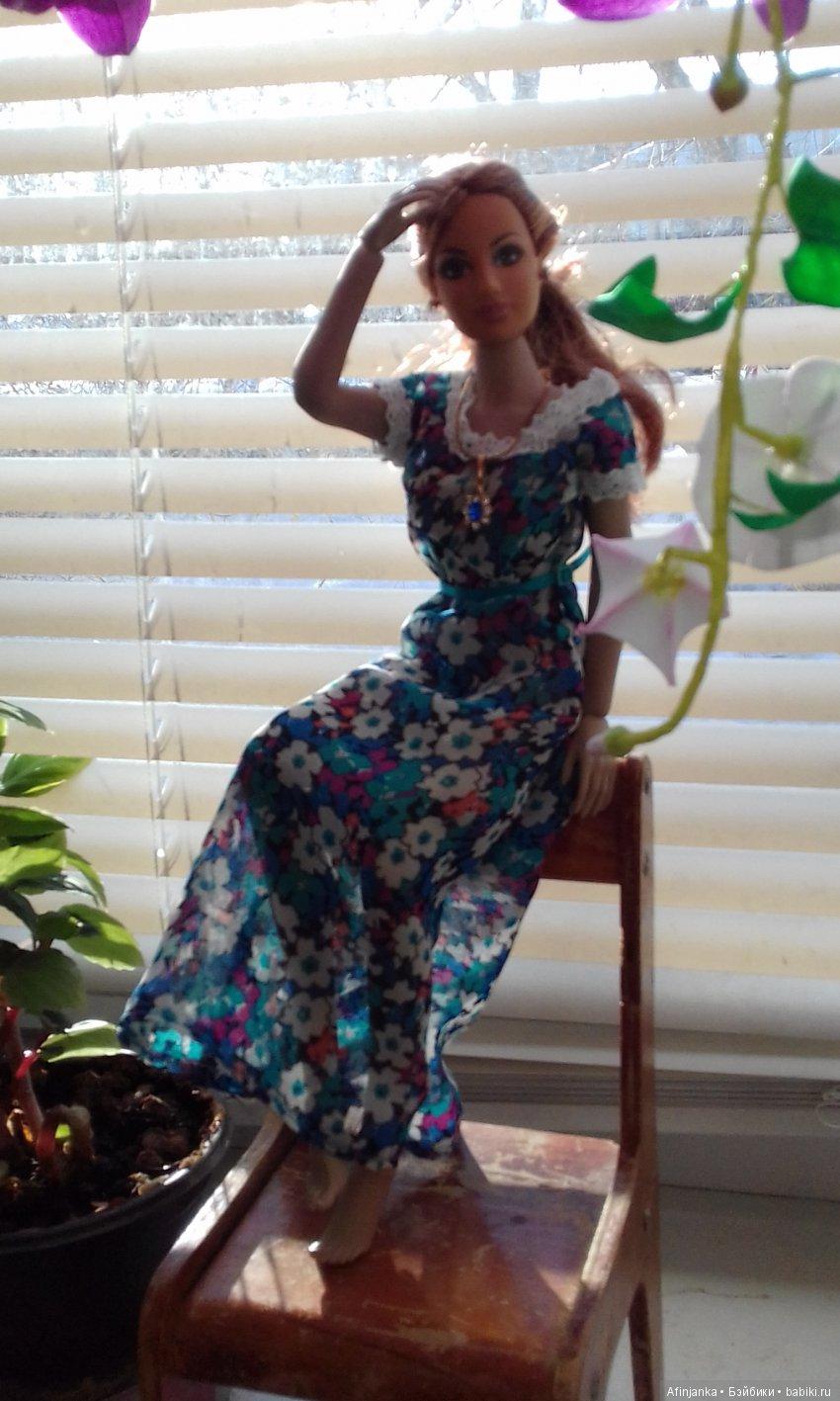 Воздушное шифоновое платье