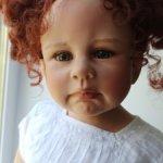 Коллекционная кукла Tiziana от Monika Levenig, 2006 год