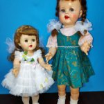 2 IDEAL Walker Doll Vintage 50-х годов.