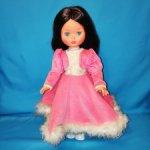 Винтажная итальянская кукла Furga, Brunette, Симона