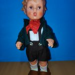 "VINTAGE 1960's COLLECTIBLE GOEBEL M.L. HUMMEL VINYL BOY DOLL 11"",1960 год."