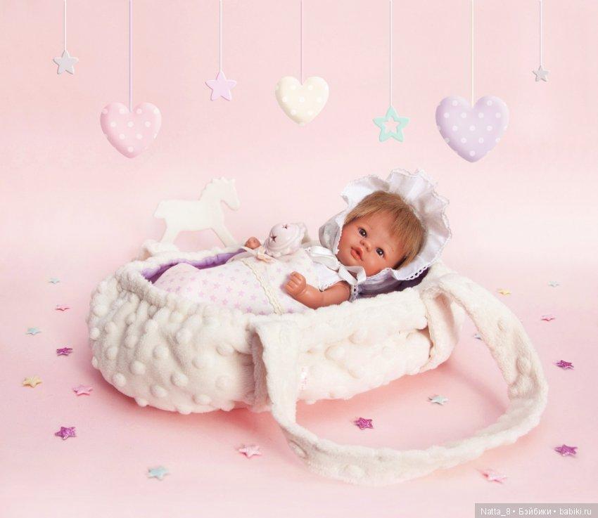Переноска-кроватка для пупсиков Asi.