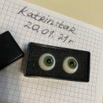 Глаза 16 мм для БЖД круглые