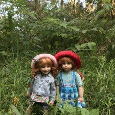 Плюшечки в лесу. Часть 2. Пеппи и Изабелла от Heidi Plusczok.