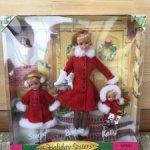 "Стейси, Барби, Келли  в подарочном наборе « Holiday Sisters"" Stasie, Barbie, Kelly, 1999 год."