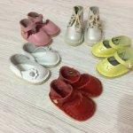 Разная обувь из натуральной кожи для Paola Reina.