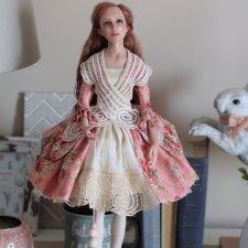 Авторская кукла Адель